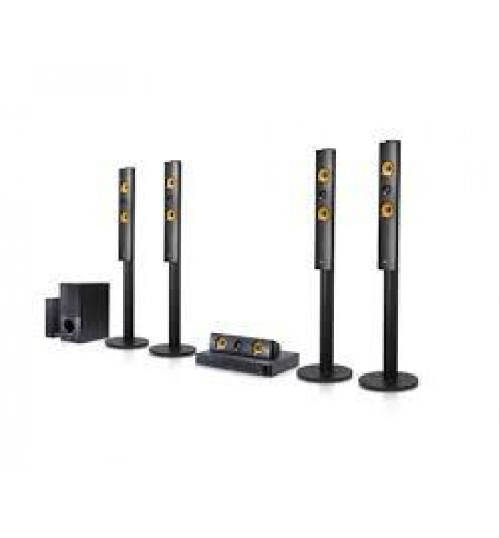 LG Home Theaters 3D Blu-Ray 5.1Ch- 1200W- Warranty 2 Years