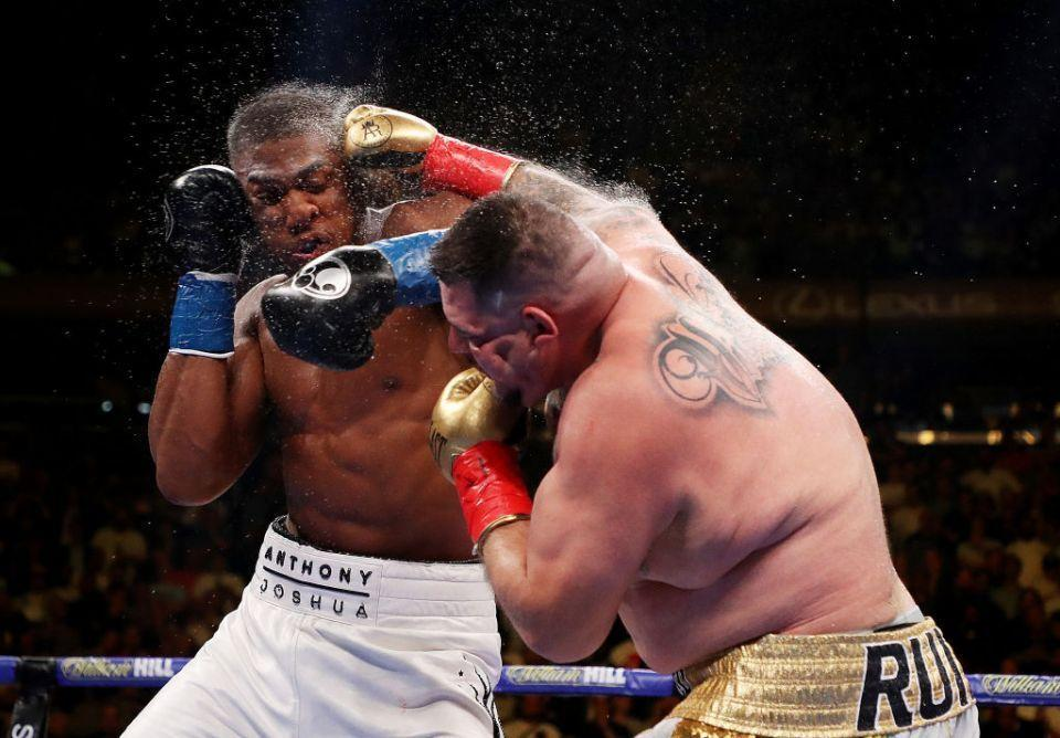 The ukrainian sensation finished the fight putting aj under enormous pressure and had the briton rocked on the final bell. Ruiz, Joshua ready for Saturday's 'Clash on the Dunes' in