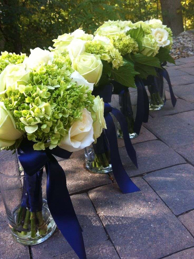 A Navy Blue and Green Wedding  Arabia Weddings