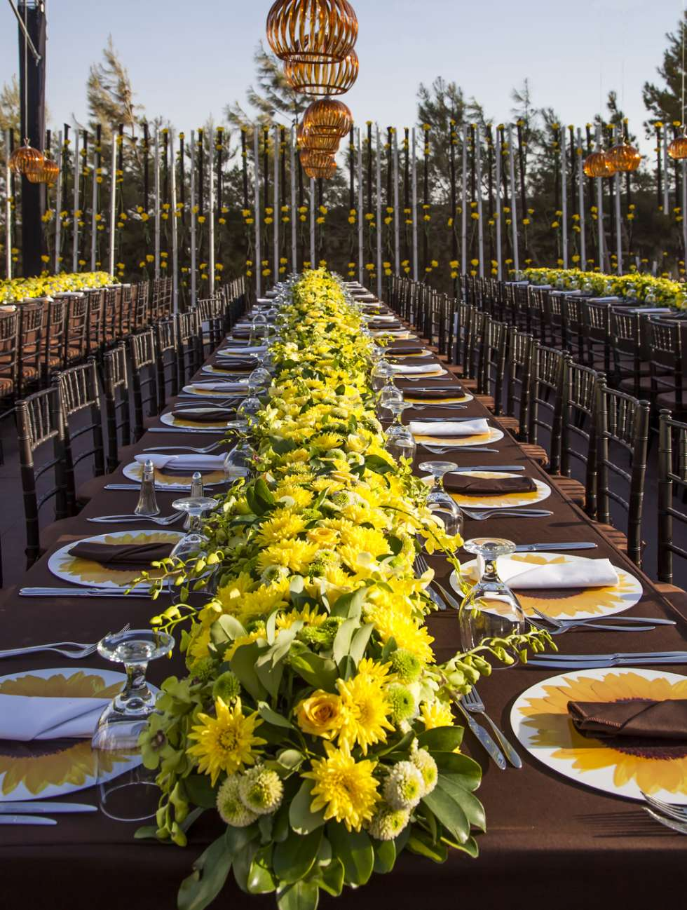 A Sunflower Wedding Theme By My Event Design  Arabia Weddings