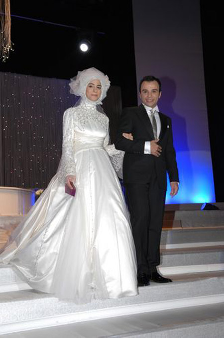 Pictures Wedding of Turkeys Presidents Daughter