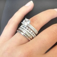 Stacked Wedding Rings for the Bold Bride