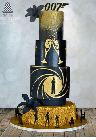 Wedding Cakes Inspired By Movies Arabia Weddings