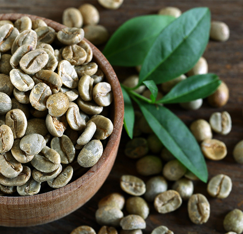 Groene Arabica Koffiebonen