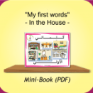 In the house – My first words Book