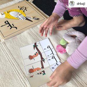 Birds Reading puzzles - photo by @drbaji on Instagram