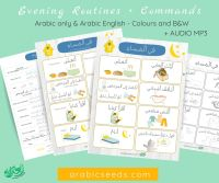 Evening Routines & Commands – Poster/Flashcards *Updated 2020*
