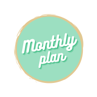 Arabic Seeds monthly plan