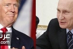 دونالد ترامب رئيس امريكا يصرح قضيه التدخل الروسي  في الانتخابات الامريكية مجرد خدعه