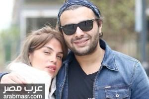 المطرب رامي صبري اول ظهور له بعد الافراج عنه بعد الازمة التي تعرض اليها