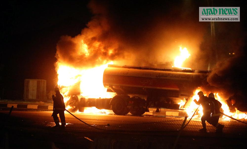 One Person Burns To Death After Horrific Oil Tanker