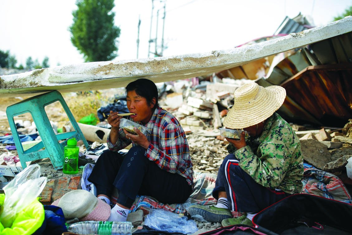 China steps up war on poverty though some are still being left behind  Arab News