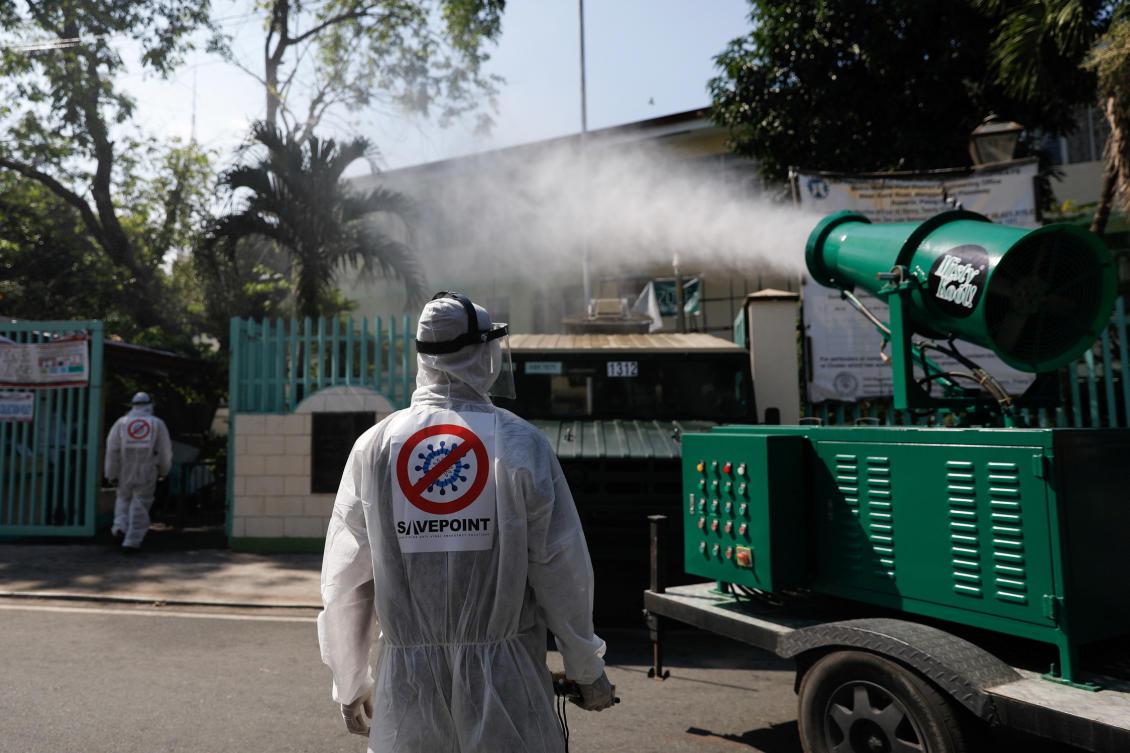 Philippines announces coronavirus lockdown of Metro Manila   Arab News
