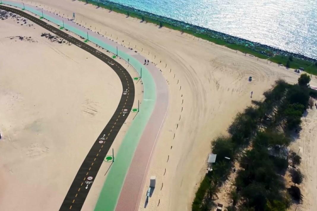 16km cycling track to be built alongside Dubai's Jumeirah Beach
