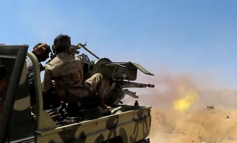 Yemen government and rebel fighters clash on Marib frontline