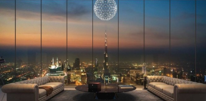 Is This Dubai S Most Expensive Apartment 54 Million Up For