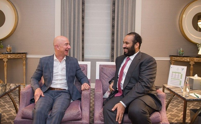 Jeff Bezos and the Saudi crown prince