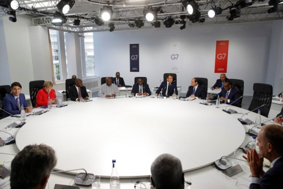 Image result for Kagame - g7