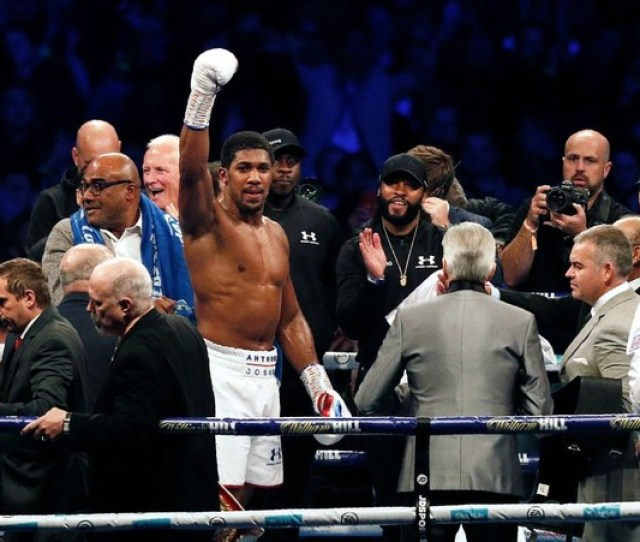 Anthony Joshua Ready For Deontay Wilder But Promoter Wants No More Delay