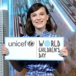 Millie Bobby Brown as UNICEF goodwill ambassador