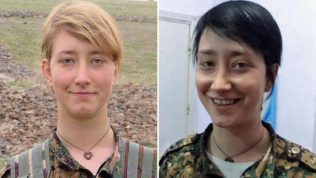 Edit Bookmark History Anna Campbell dyed her hair black so she could travel to Afrin to fight the Turks