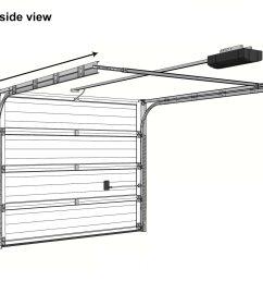 sectional garage door diagram [ 1612 x 1428 Pixel ]