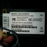 Naawigo Mini N MiniPCI wireless card WLE200NX