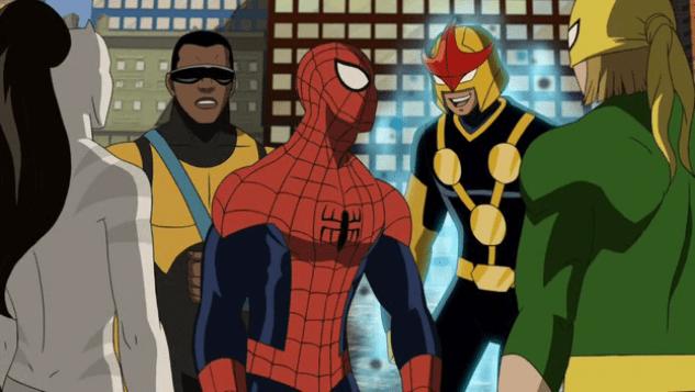 Resultado de imagem para Ultimate Homem-Aranha desenho