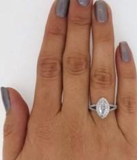 2 Carat Marquise Cut Diamond Engagement Ring | Ara Diamonds
