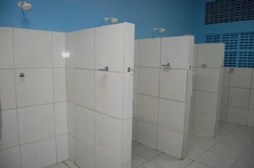 Sala de banho e fraldário