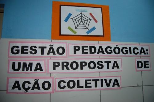 Sala de gestão pedagógica