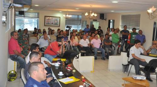 Bom público participou da audiência