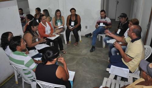 Grupos discutiram propostas baseadas na Política Nacional de Saúde do Trabalhador e da Trabalhadora