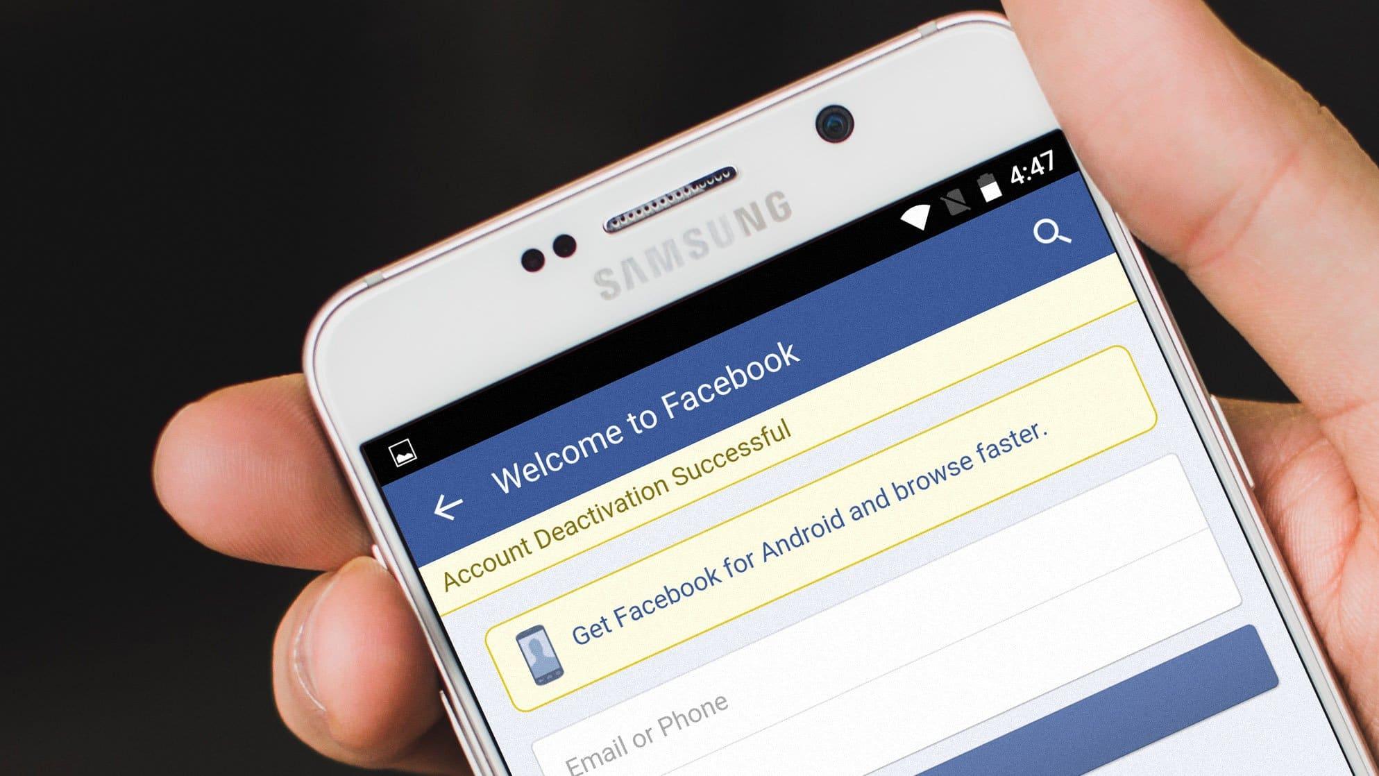 ماذا يحدث عندما تقوم بتعطيل Deactivate حسابك على موقع فيسبوك