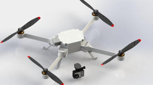 3D-printed-quadcopters