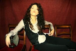 Carmen París en los Premios de la Música Aragonesa. Por: Gustaff Room.