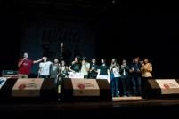 Foto de familia de los ganadores. Foto Jaime Oriz