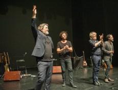 Elefantes el 27 de mayo de 2017 en el Teatro de las Esquinas. Foto, Ángel Burbano