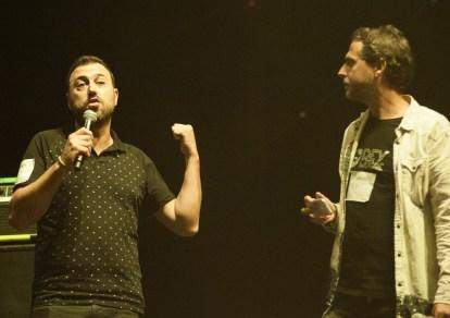 David Chapín y Sergio Falces. Conciertos Imposibles, o casi. Voces de Mujer. 2017, foto de Ángel Burbano