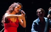 Silvia Pérez Cruz el 9 de noviembre de 2017 en el Teatro Principal. Por Ángel Burbano
