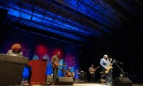 Pee Wee Ellis Quintet el 24 de noviembre de 2017 en la Sala Multiusos. Por Ángel Burbano