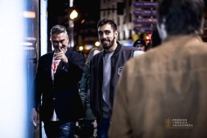 Kase.O y Borja Iglesias. Foto de Marcos Cebrián