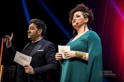 Presentadores. Foto de Marcos Cebrián