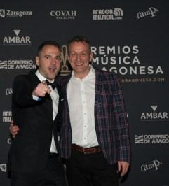 Sergio Falces y Fernando Rivarés. Foto, Ángel Burbano