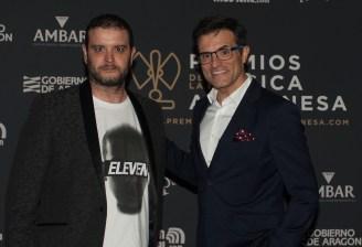 David y Luis Larrodera. Foto, Ángel Burbano