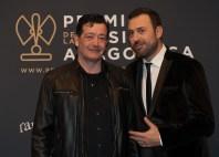 Luis Linacero y David Chapín. Foto, Ángel Burbano