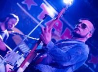 Neon Delta el 8 de abril de 2018 en la Sala Snatch. Foto, Ángel Burbano