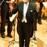 Plácido Domingo en la Sala Mozart el 22 de mayo de 2018 - Foto de Ángel Burbano