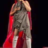 NOA, el 7 de junio de 2018 en el Teatro Principal de Zaragoza. Foto, Sonia Lapena