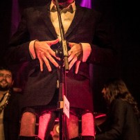 Dadá. Presentación de O Zaguer Chilo. Foto de Luis Lorente